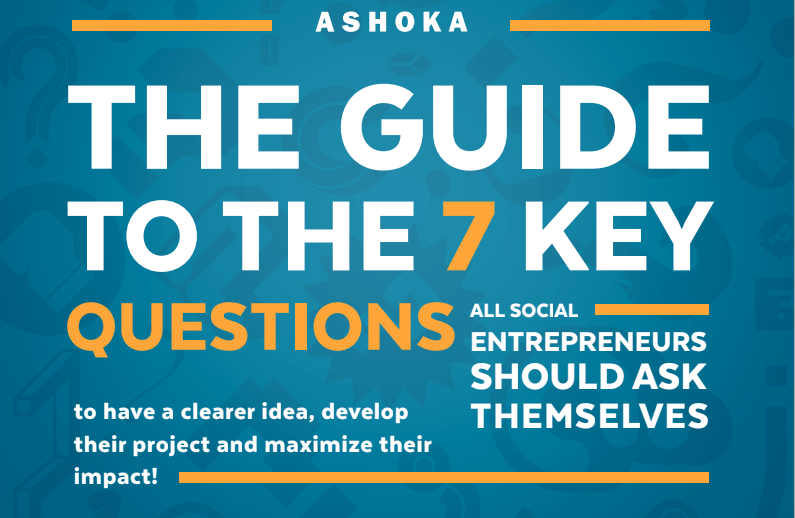 ASHOKA, sosial entreprenør