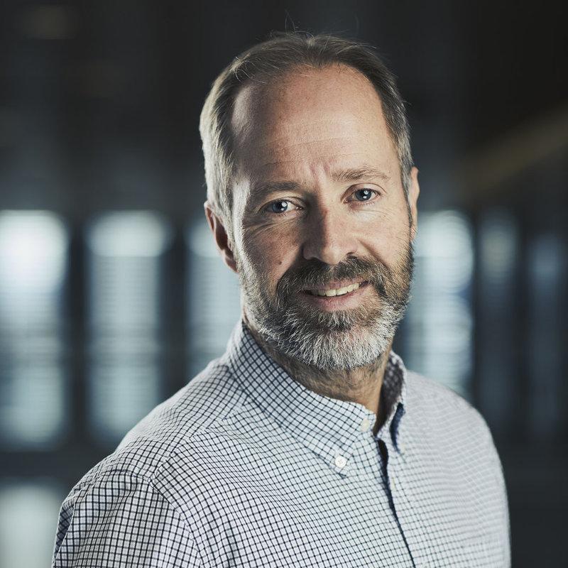 Knut Nystad, daglig leder i Stiftelsen VI