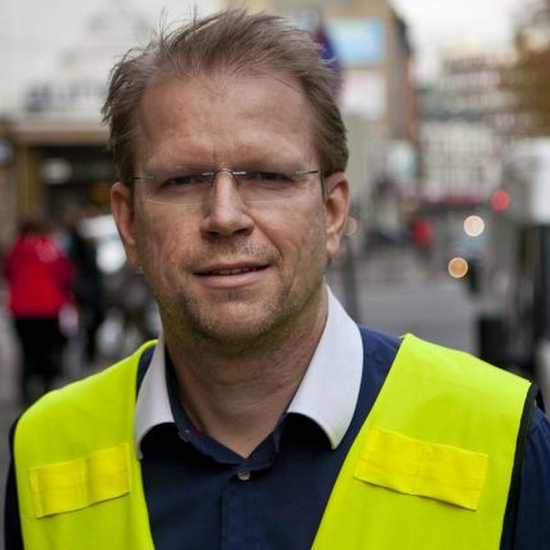 Lars Norbom, ansvarlig for daglig drift og Generalsekretær i Natteravnene