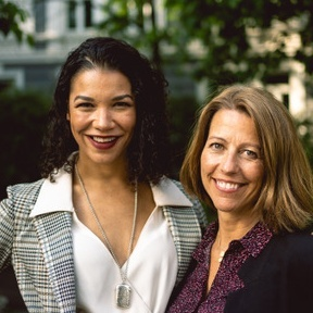 Maria Arlén Larsen og Solvor Øverlien Magi, gründere og ledere av Lifeness AS
